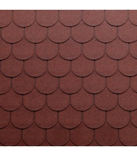 Tegola Top Shingle Traditional rosu