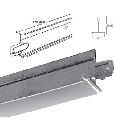 Profil secundar T600 mm