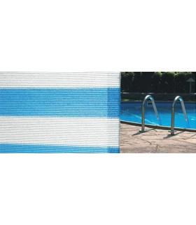 Plasa de umbrire Soleado alb/albastru