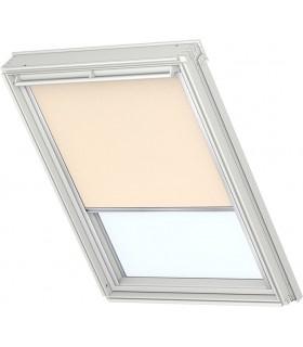 Rulou decorativ Velux RFL, Atenueaza lumina, Sine glisante