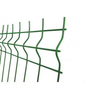 Set complet de gard din panou ZN + PVC H170 cm