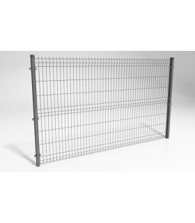 Set de gard PREMIUM din panou zincat H170 cm