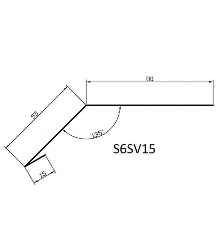Bordura streasina S6SV15