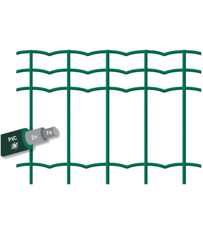 Gard plastifiat HORTAPLAST