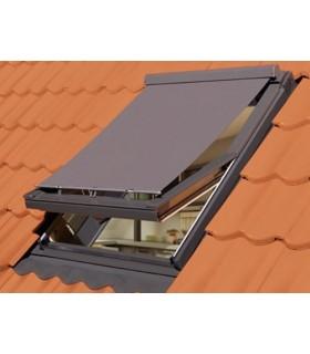 Rulou exterior Fakro AMZ, Protectie impotriva caldurii, Actionare manuala, Rezistent UV si ploi