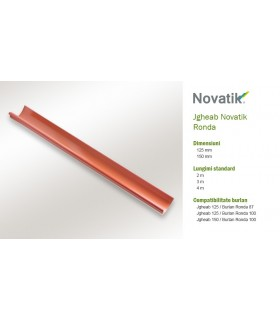 Set complet de jgheab Novatik Ronda 150 mm