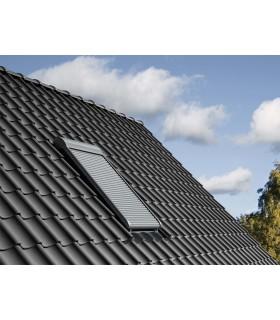 Roleta exterioara Velux SML, Actionare electrica, Protejeaza de caldura, Efect de intunecare, Izoleaz termic