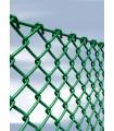 Plasa impletita Zn + PVC, Diametru fir 3 mm, Ochi 50x50 mm, Lungime 25 m