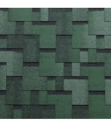 Sindrila bituminoasa Tegola Gothik verde