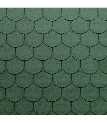 Tegola Top Shingle Traditional Verde