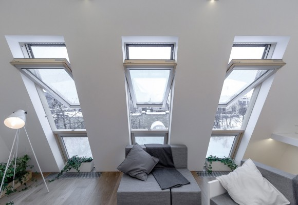Alegerea ferestrelor de mansarda