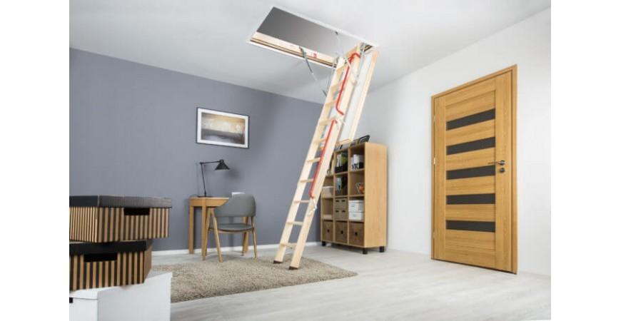 Fakro LWL Extra - confort si siguranta pentru accesul la mansarda